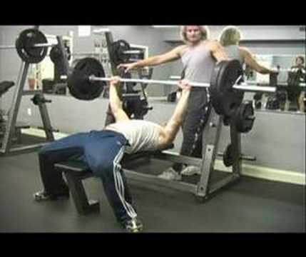 Weight Lifting Bench Press 225 Youtube