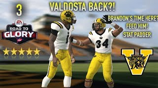 NCAA FOOTBALL ROAD TO GLORY BRANDON TIME EPISODE 3 | VALDOSTA HIGH WILDCATS | PLAYOFF BOUND?