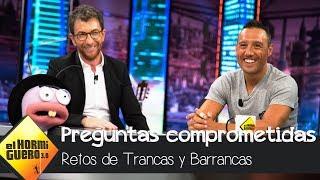Santi Cazorla responde a Trancas y Barrancas sobre los controles antidoping - El Hormiguero 3.0