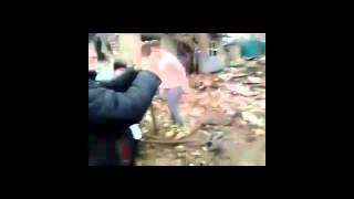 26 11 Обстрел домов поселка Попасная + общежития  ЛНР Луганская область