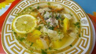 Уха грибная, цыганка готовит.🐟👍 Постное блюдо. Gipsy cuisine.