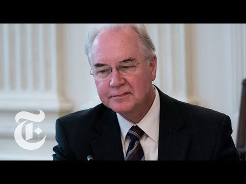 Under Pressure Tom Price Resigns From HHS Position