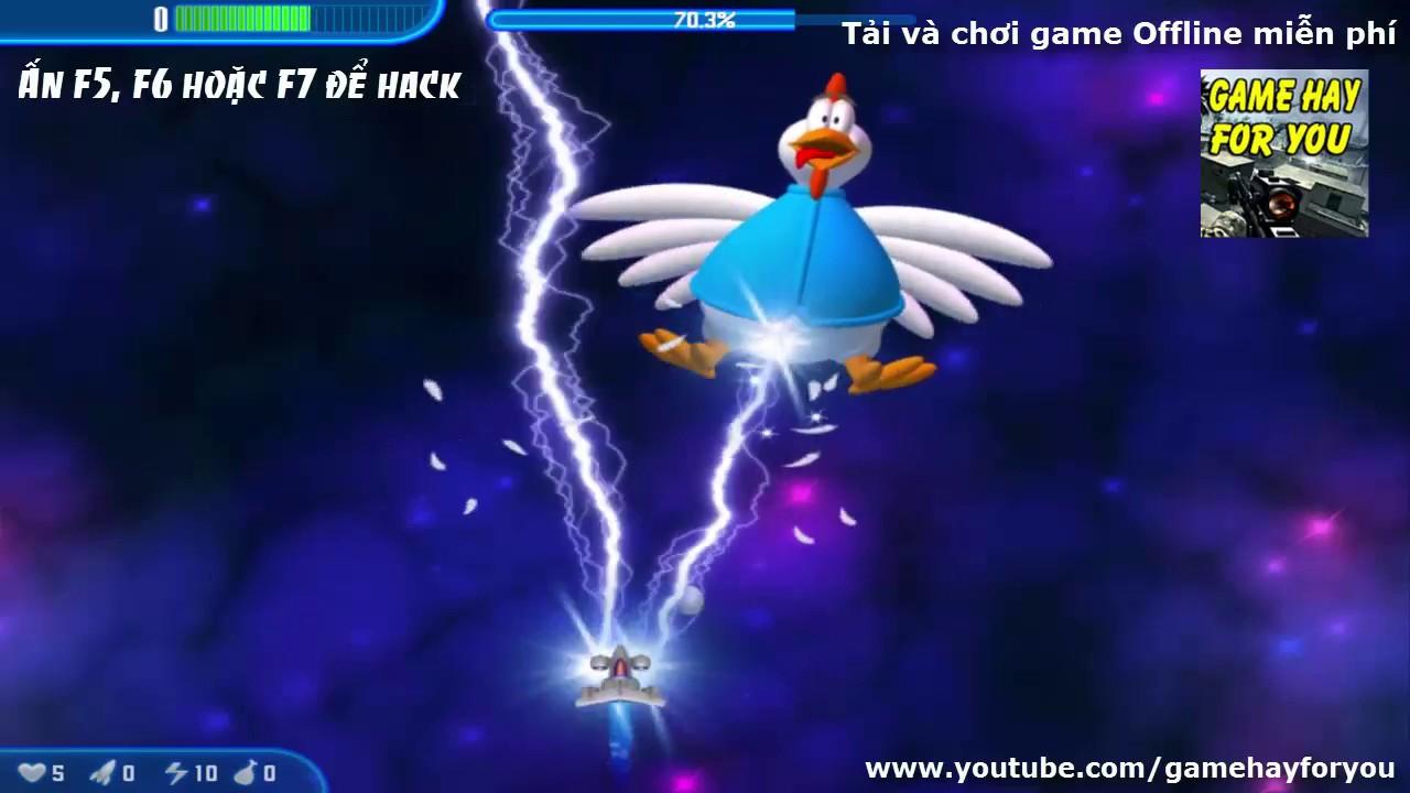 Tải và chơi game Bắn gà 3 trên máy tính – Play game Chicken Invaders 3 on PC