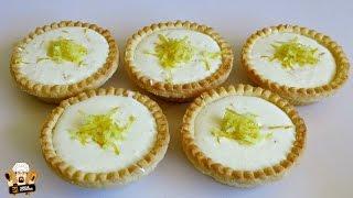 3 Ingredient Lemon Tarts