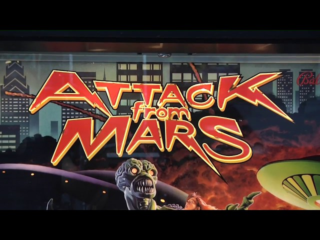 Attack from Mars: Intro