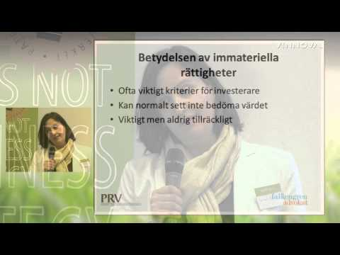 Del 9: World Intellectual Property Day, 26/4 2013 -  Investeraren. Så attraherar du en...