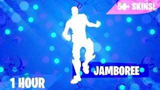 Fortnite - JAMBOREE EMOTE (1 HOUR) (MUSIC DOWNLOAD INCLUDED!)