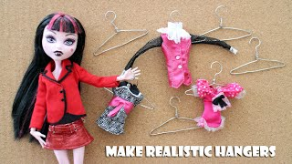 How To Make A Hanger Making Device And Clothes Hangers For Dolls- Doll Crafts