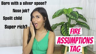 QUICK FIRE ASSUMPTIONS TAG / Answering Assumptions About Me