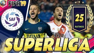 FIFA 19 | Superliga Argentina - TOP 25 OFICIAL Player Ratings