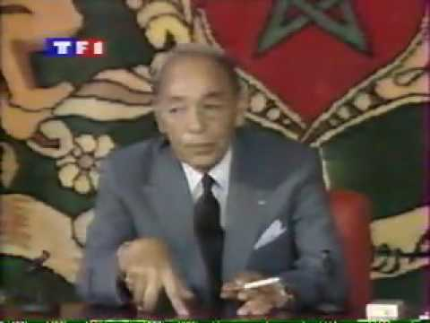 Hassan II face à la presse l'exelence