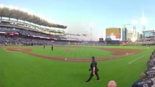 AJC 360 | The first National Anthem at SunTrust Park