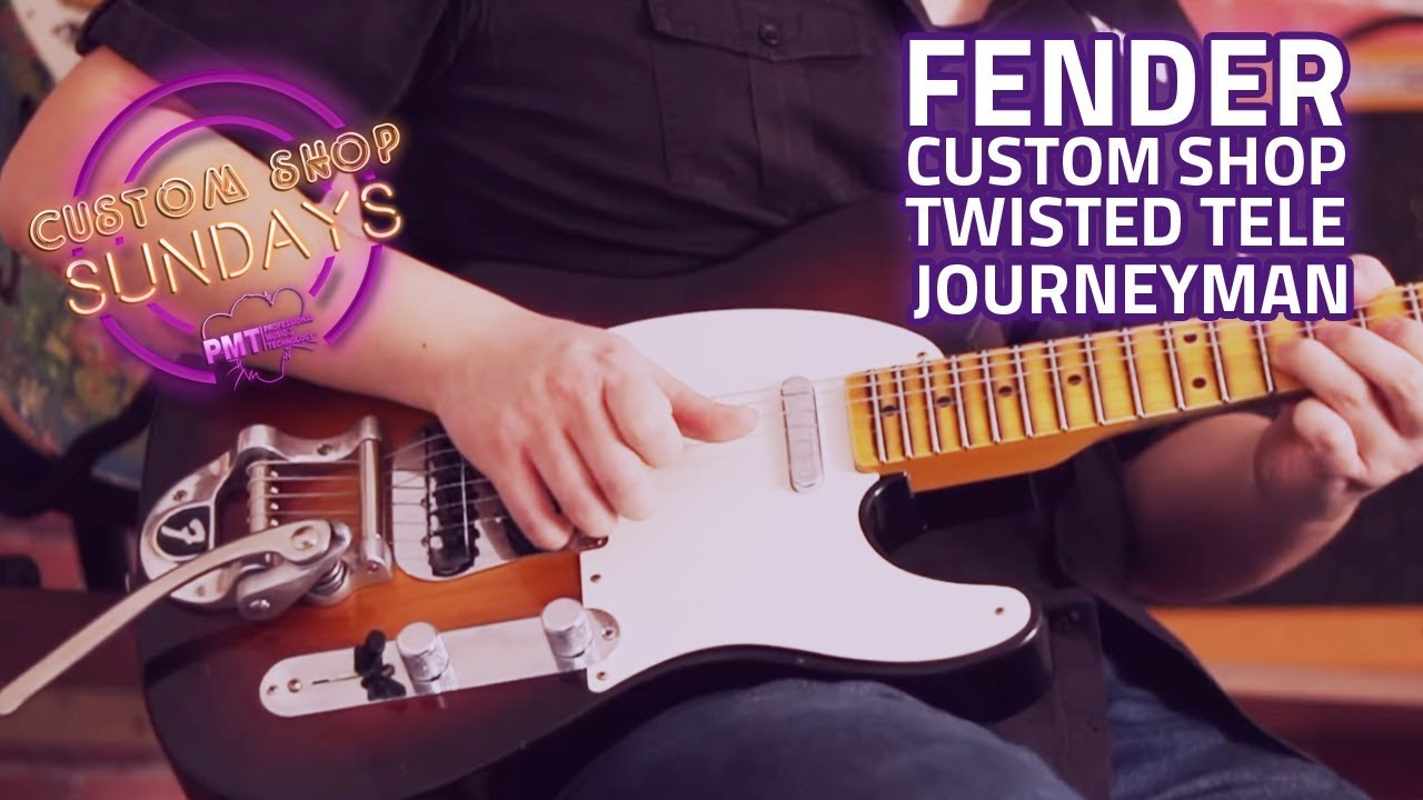 fender custom shop ltd twisted tele journeyman relic 2 tone sunburst custom shop sunday [ 1280 x 720 Pixel ]
