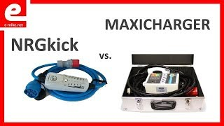 NRGKick vs Maxicharger  | Elektroauto laden | e-mike.net