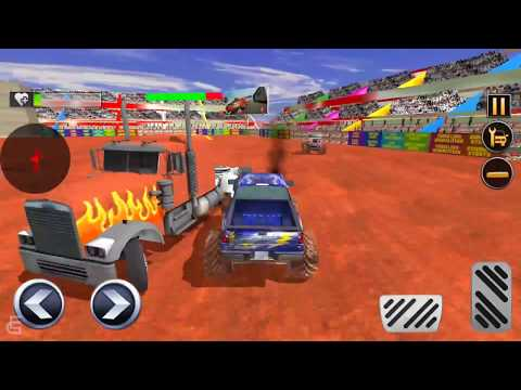 Monster Truck Derby Crash Stunts #3 | Android Gameplay | Friction Games
