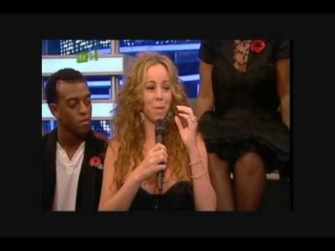 Mariah Carey - Xtra Factor Backstage Interview 2008
