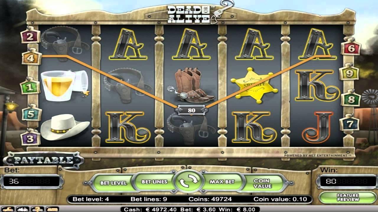 Dead Or Alive Slot Machine
