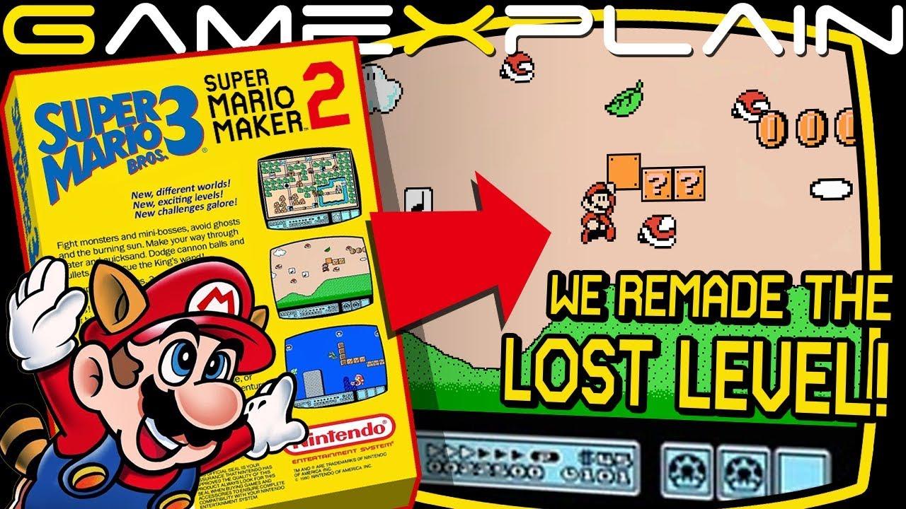 Smb3 The Lost Level In Super Mario Maker 2 Youtube