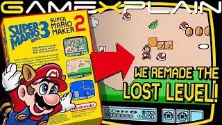 SMB3 The Lost Level in Super Mario Maker 2