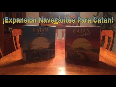 Como Jugar Catan Navegantes Expansión  ESPAÑOL