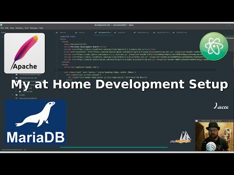 My Development Setup With Apache, Lucee, MariaDB And Atom!