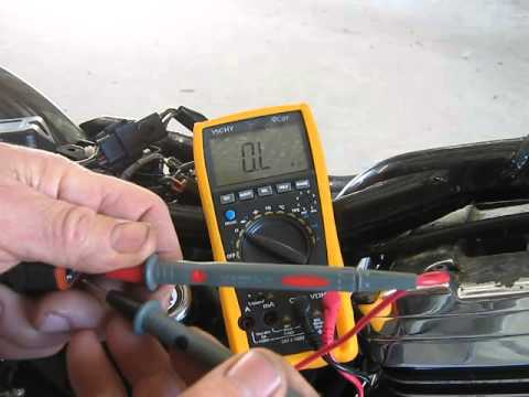 Test a good VOES - from sportster problem 35