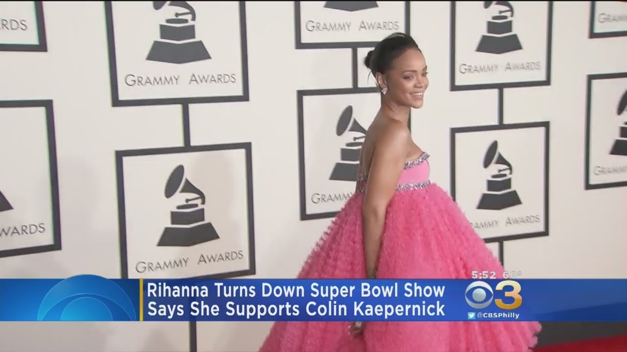 Report: Rihanna Turned Down Super Bowl Halftime Show In Support Of  Colin Kaepernick