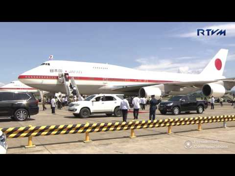 Departure of Prime Minister Shinzo Abe