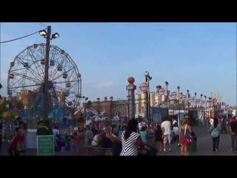 An Afternoon at Coney Island Beach - Another Top Free Place to Visit in NYC