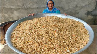 VEG FRIED RICE RECIPE BY MY GRANNY | STREET FOOD | INDIAN RECIPES | VEG RECIPES