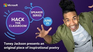 Hack The Classroom ISTE 2019 | Toney Jackson