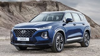 Hyundai Santa Fe 2019 All New Premium 7 Seater SUV a Complete  Review !!!