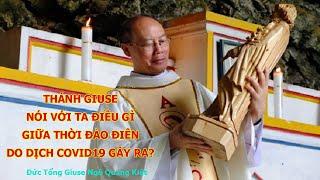 Thánh Giuse nói với ta điều gì giữa đại dịch Covid-19
