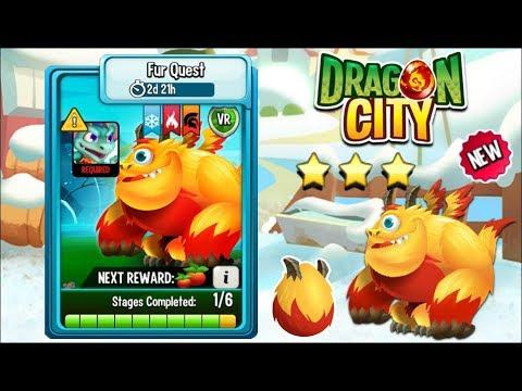 Dragon City - Fur Dragon [Fur Quest   Full Fight & Combat 2018] Mp3