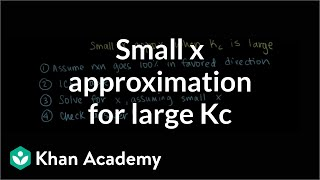 Small X Approximation For Large Kc