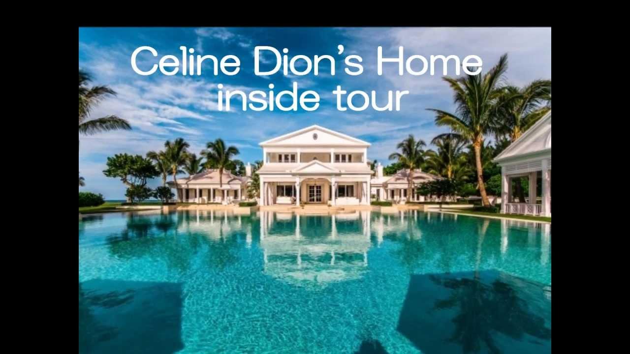 Celine dion 39 s home inside tour florida youtube Celine dion florida