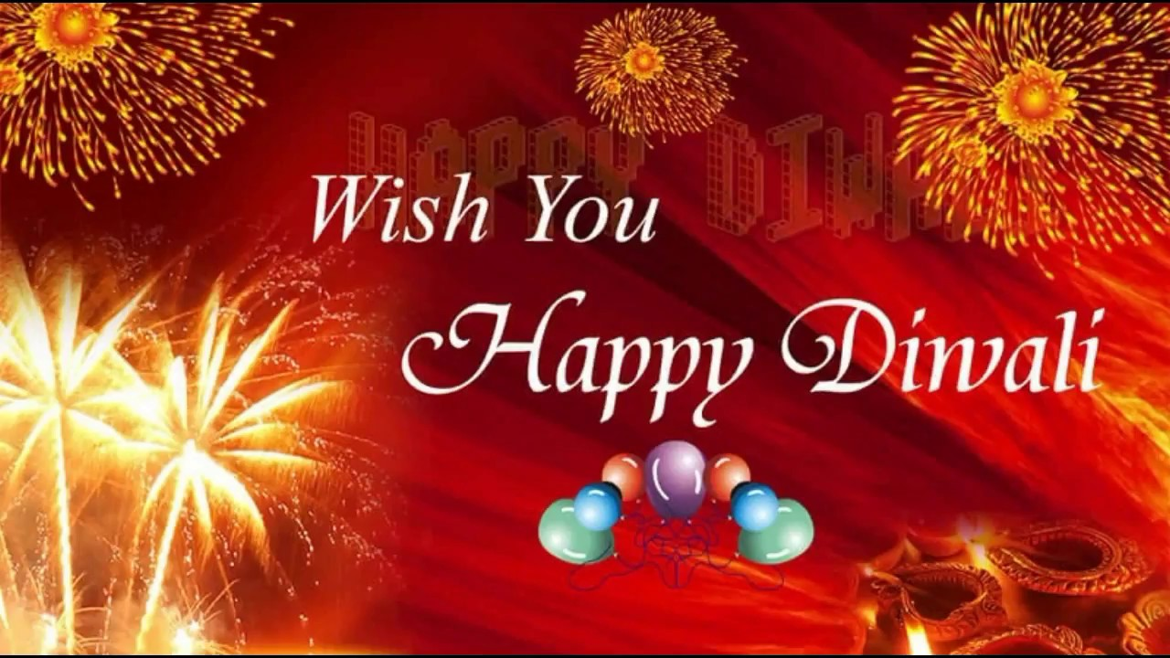 Happy Diwali 2017 Wishes in Hindi Deepavali Whatsapp Video Greetings Animation Ecard Quotes