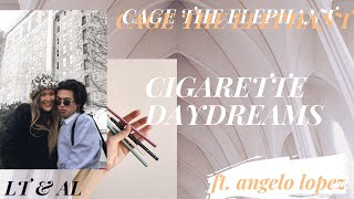 CIGARETTE DAYDREAMS - Cage The Elephant - NOOB PLAYS GUITAR 24 ft. ANGELO LOPEZ