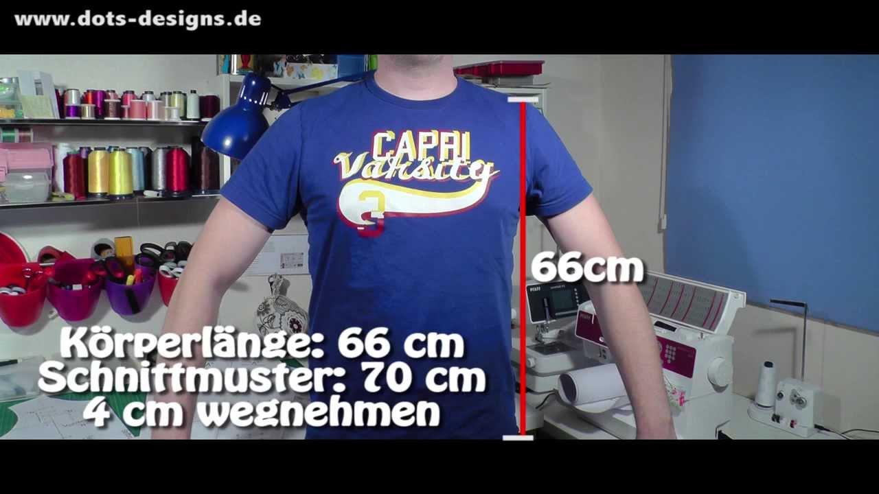 SCHNITTMUSTER GANZ EINFACH ÄNDERN | DIY | Nähen für Anfänger ...