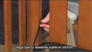 (spanish) Delta Duval Crib Assembly Instructions