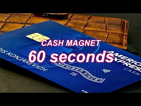 AmericanExpress Cash Magnet Review