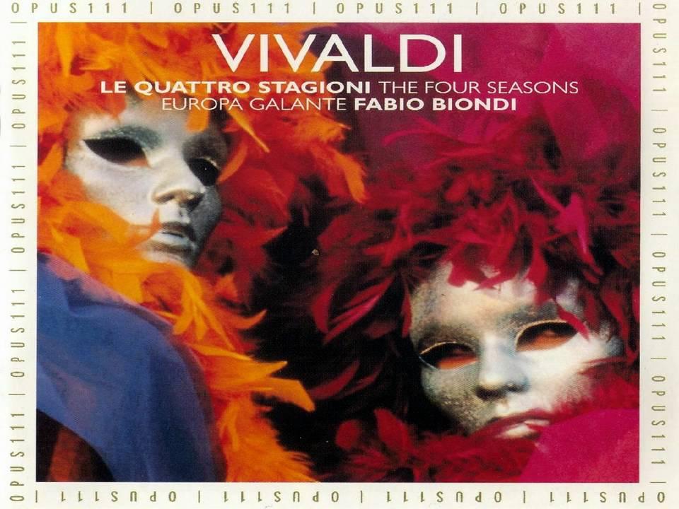 Antonio Vivaldi* Vivaldi·- Nigel Kennedy , English Chamber Orchestra - The Four Seasons