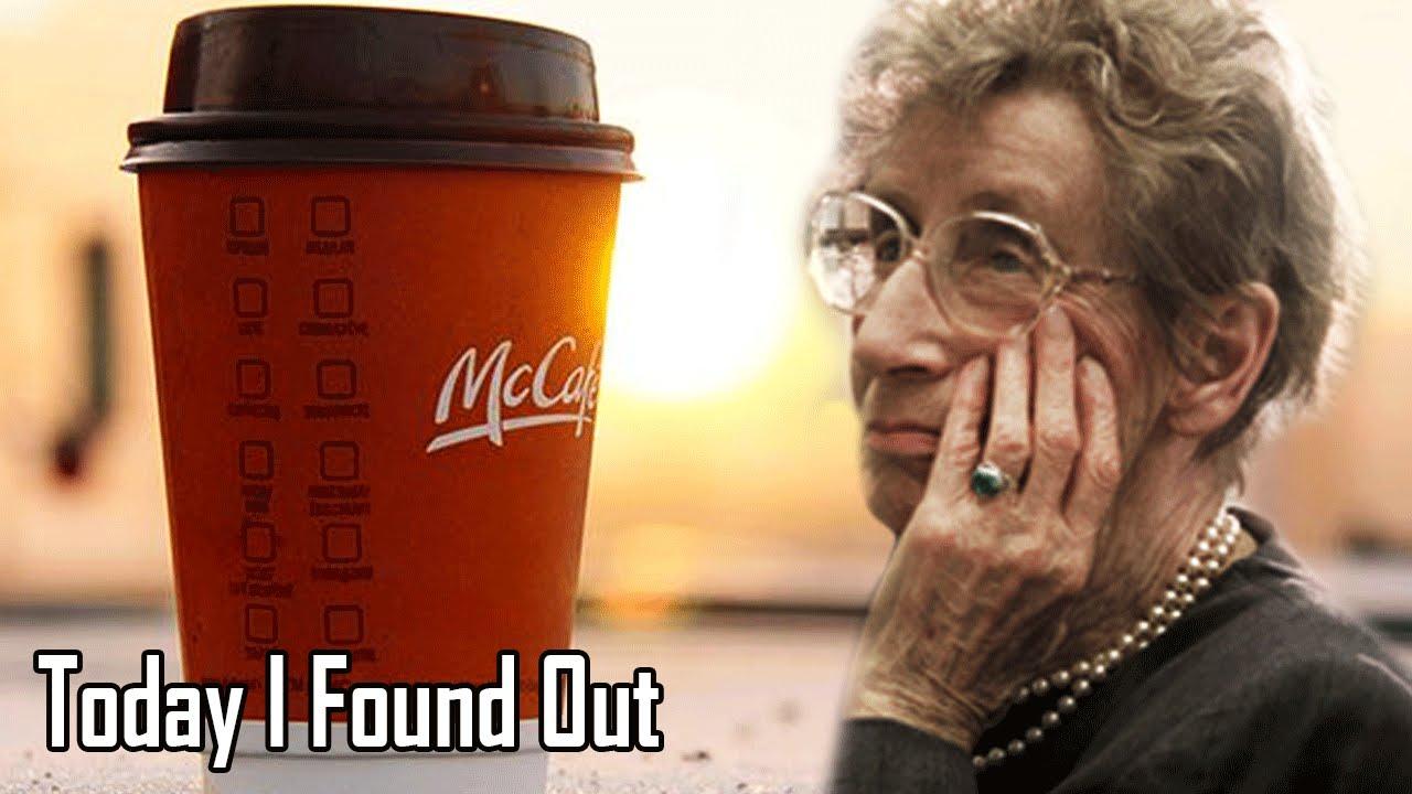Mcdonalds Senior Coffee
