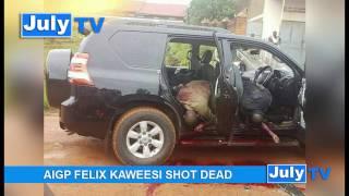 BREAKING NEWS Uganda Police Spokes person shot dead AIGP Andrew Felix Kaweesi Trending Uganda