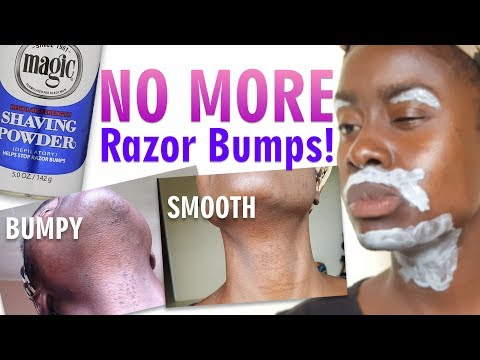 Magic Shaving Powder For Hair Removal Review Demo Women Can Use