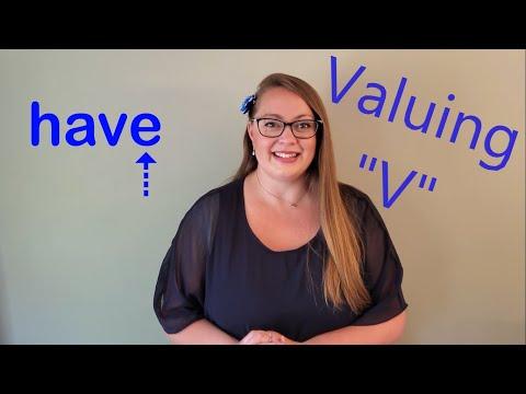 """Valuing the letter """"V"""""""