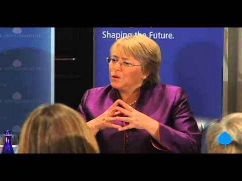 Conversation With Her Excellency Michelle Bachelet, President of Chile