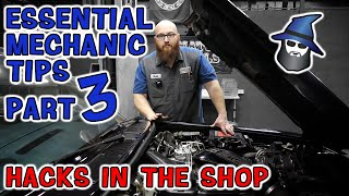 Part 3: The CAR WIZARD shares 10 Crazy Easy Shop Hacks that will make your wrenching so much easier!