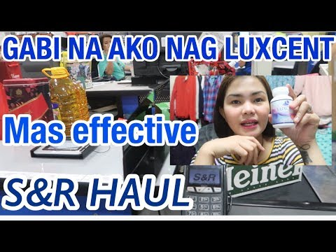 VLOGMAS DAY 7| MAS EFFECTIVE ANG LUXCENT SA GABI? | SNR HAUL