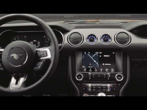 New 2018 Ford Mustang Facelift Interior